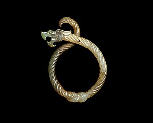 Knotted Dragon Pendant
