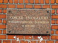 Kościół ewangelicko-augsburski Wniebowstąpienia Pańskiego 1912-1913 ulica Śląska - 7.JPG
