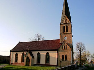 Sarbinowo, Gmina Dębno - Catholic church in Sarbinowo