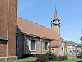 Koewacht-Moerbeke, de Sint Filippus en Sint Jacobuskerk oeg34290 positie2 foto1 2013-05-06 13.12.jpg