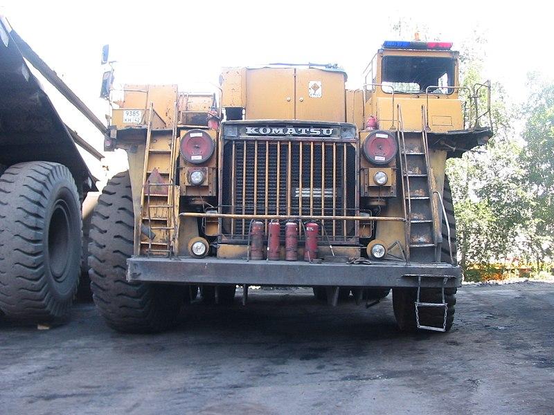 File:Komatsu dump truck.jpg
