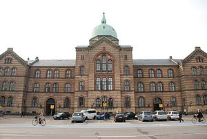City Campus (University of Copenhagen) - CSS on Øster Farimagsgade