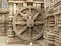 Konark Sun Temple Wheel and Sculpture By Piyal Kundu.jpg