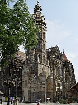 St. Elizabeth's (Elisabeth of Hungary) Cathedral, Košice. Since 1906 the resting place of the remains of Francis II Rákóczi.