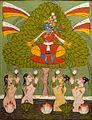 Krishna et les Gopis (Musée nat. d'art oriental, Rome).jpg