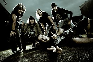 Krokus (band) - Image: Krokus Band 2008