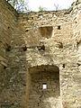 Kudryntsi castle ruins 10.JPG