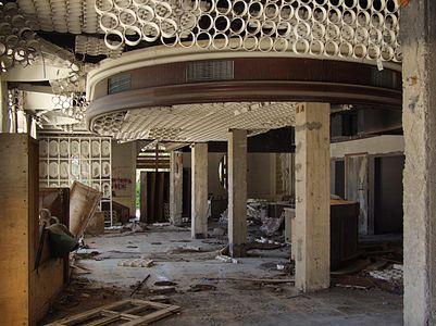 Kupari, Croatia - destroyed hotel Grand