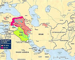 Cartina Kurdistan.Kurdistan Wikipedia