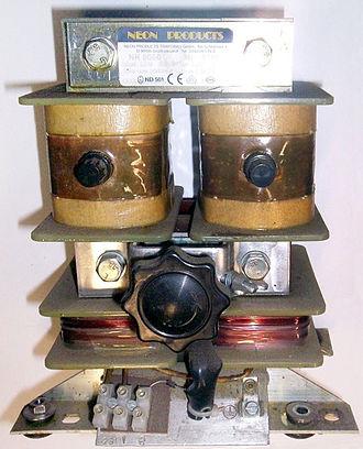 Leakage inductance - High leakage transformer