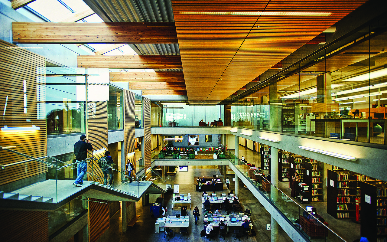 Surrey University Library Quiet Room