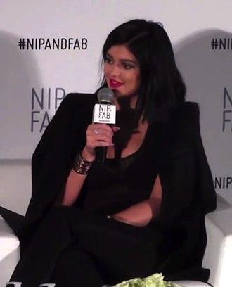Kylie Jenner - Image: Kylie Jenner for Nip + Fab