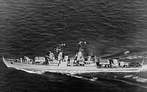 Kynda-class cruiser - Image: Kynda class cruiser underway