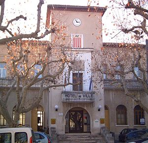 La Bouilladisse - The town hall of La Bouilladisse