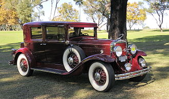 LaSalle (automobile) - 1930 LaSalle Series 340, photographed in Perth, Western Australia