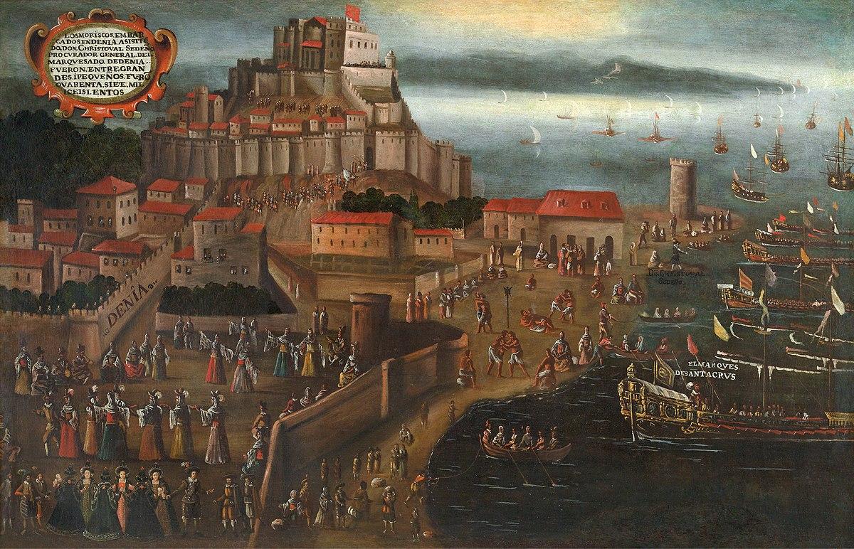 Expulsió dels moriscos - Viquipèdia, l'enciclopèdia lliure