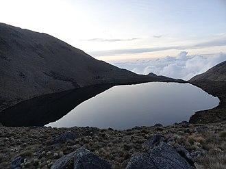 General Juan Pablo Peñaloza National Park - Image: La Grande sobre las nubes
