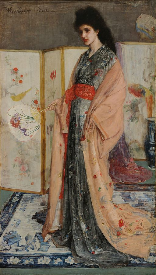 """The Princess from the Land of Porcelain"" by James Abbott McNeill Whistler"