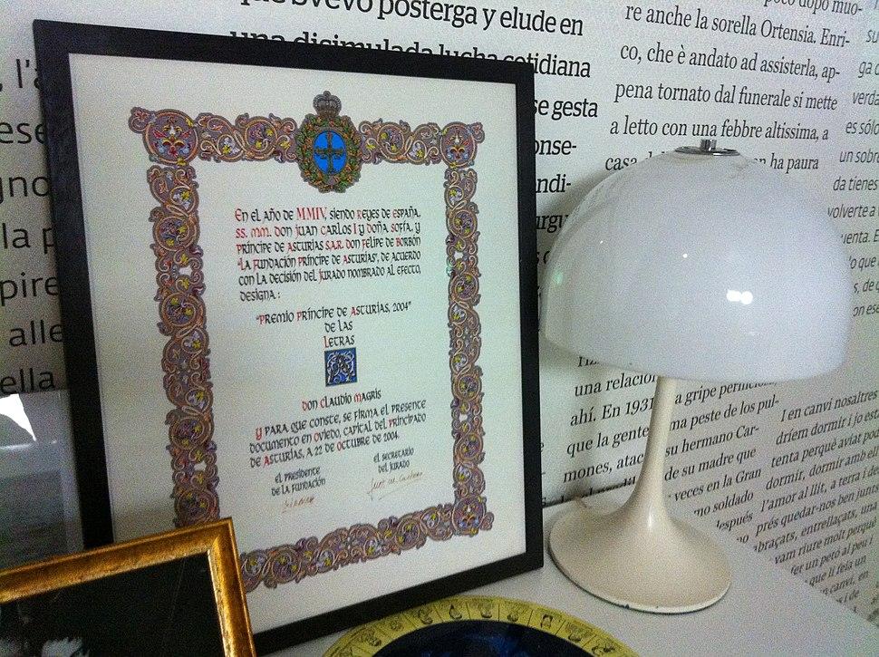 La Trieste de Magris al CCCB (11)- Premi Princep d%27Asturies