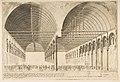 La salle des pas-perdus a l'ancien Palais de Justice (The antechamber of the Palais de Justice, Paris, after Ducerceau) MET DP813239.jpg