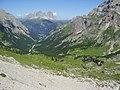 La val di cotrin con il sasso lungo - panoramio.jpg