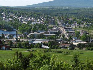Lac-Mégantic, Quebec - Image: Lac Mégantic mod