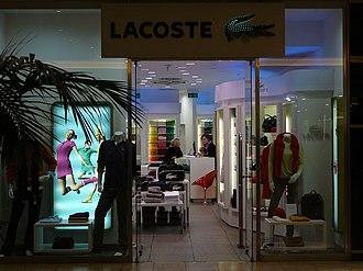 Lacoste - Lacoste store in Vaňkovka, Brno