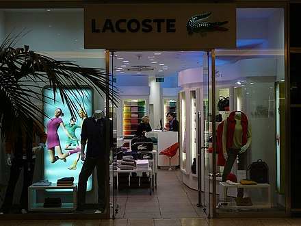 3f14678aa981ef Lacoste store in Vaňkovka