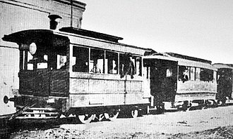 Urquiza Line - Early days Lacroze rural tramway.