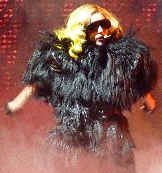 File:Lady Gaga performing Monster2 cropped.jpg
