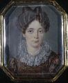 Lady in dark red dress by W.M.Wankowicz (1828, Hermitage).jpg