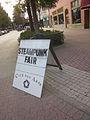 Lafayette Steampunk Fest 2012 Sign Jefferson Vine.JPG