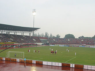 Liga Primer Indonesia - First match on 2011 season played at Manahan Stadium, Solo