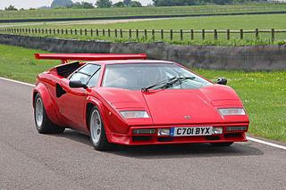 Lamborghini Countach V12 flagship sports car produced by Italian automobile manufacturer Lamborghini from 1974–1990 as the successor to the Miura