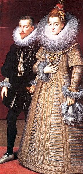 Alberto y la infanta Isabel