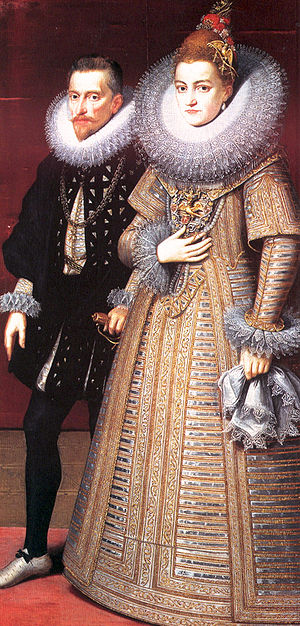 Isabella Clara Eugenia - Isabella Clara Eugenia and Archduke Albert