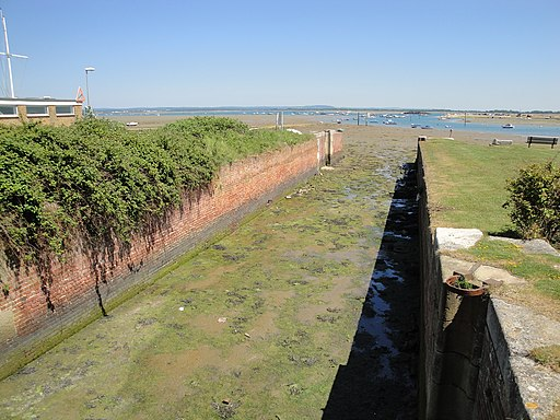 Langstone Harbour canal