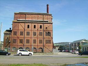 Launceston Gas Works 1930s Vertical Retort