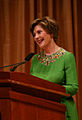 Laura Bush speaks at National Book Festival 2008.jpg