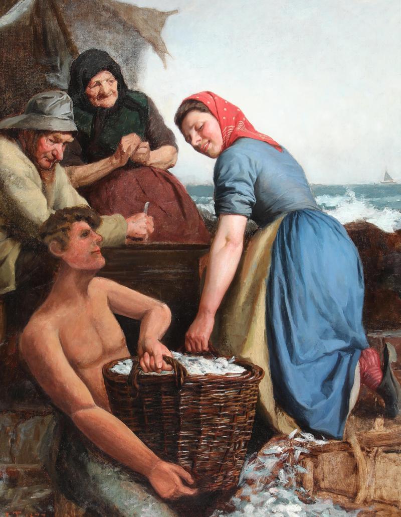 Лауриц Туксен, Фанстен орднес, 1877.png