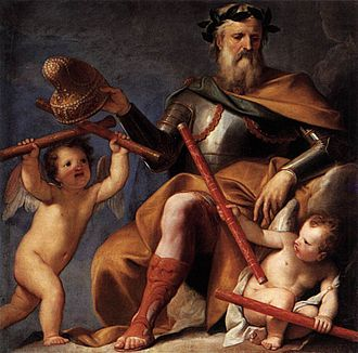 Gregorio Lazzarini - Image: Lazzarini, Gregorio Merit Offers the Command to Doge Morosini 1694