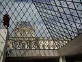 Le Louvre depuis l'intérieur de la Pyramide - panoramio.jpg