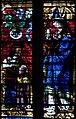 Le duc René II de Lorraine et son saint patron sur un vitrail de la Cathédrale de Metz.jpg