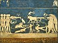 Le plafond de la tombe de Sethi 1er (Thèbes ouest) (3531378791).jpg