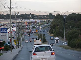 Leach Highway in Palmyra