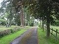 Leaving Glazeley church - geograph.org.uk - 867874.jpg