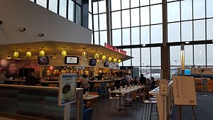 The Legal Sea Foods at Boston's Logan International Airport, Terminal B.