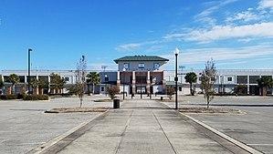 Legion Stadium - Front side of Legion Stadium