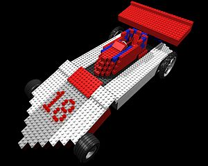 Lego CAD Racecar