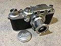 Leica IIIc red curtain 1940 (32814143783).jpg